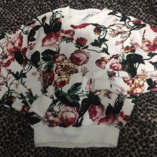 ON SALE! Long Sleeved Floral Sweats