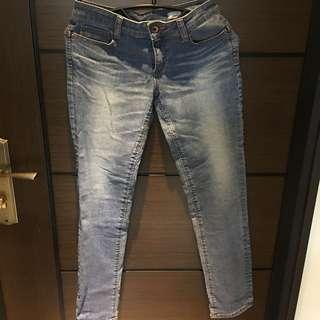 BRAPPERS修身直筒牛仔褲