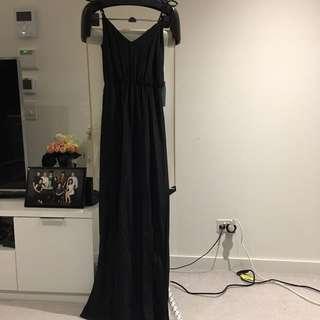 Kookai Black Maxi Dress