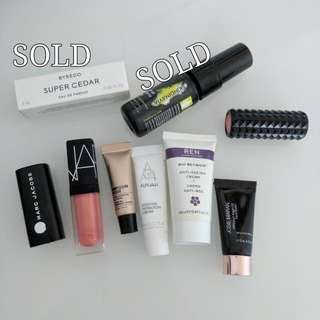 Various Deluxe Sample Sized Products