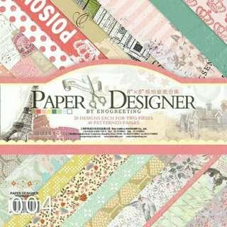8x8 Paper Design
