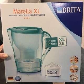 德國BRITA  -- 馬利拉3.5L花漾壺(薄荷綠)內含1支濾芯