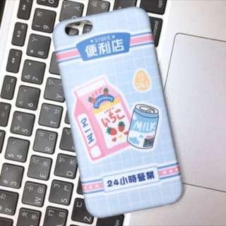(現貨)日系便利店果汁牛奶手機殼(i6/i6s)