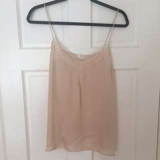 Club Monaco Silk Camisole