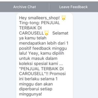 Riview From Carousell