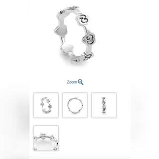 ♥Gucci 18K White Gold Ring♥