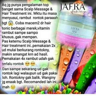 Jafra Scalp Massage And Hair Treatment