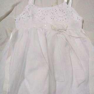 White Dress For Baby Girl