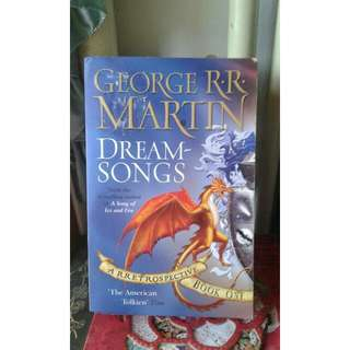 DREAM-SONGS - GEORGE R.R MARTIN (GAME OF THRONES)