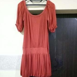 Dress Orange (fit to L)