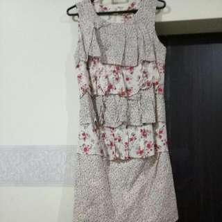 Dress Bunga2 Size L
