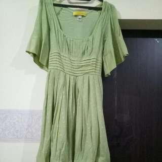 Dress Hijau (fit to M)