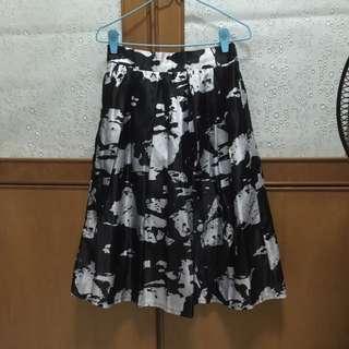 Flare Full Skirt