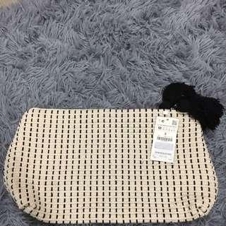 Zara全新時尚必備野餐手拿包