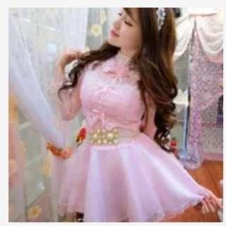 新娘伴娘禮服 Lolita 小公主洋裝 蕾絲洋裝 禮服 蓬蓬裙 紗裙