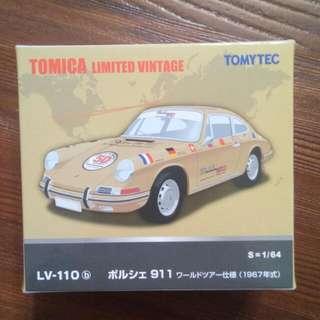 🚚 Tomica Tomytec LV-110b 911 50週年紀念車款