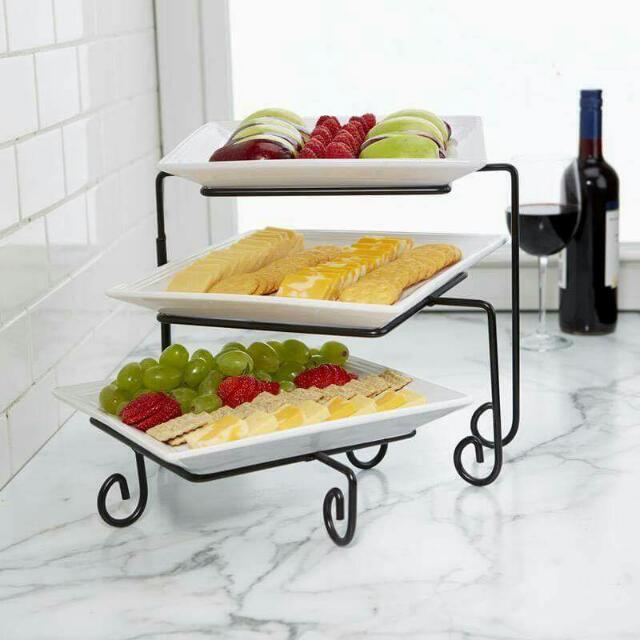3 tier buffet server kitchen appliances on carousell rh ph carousell com 3 tier buffet server canada 3 tier buffet server canada