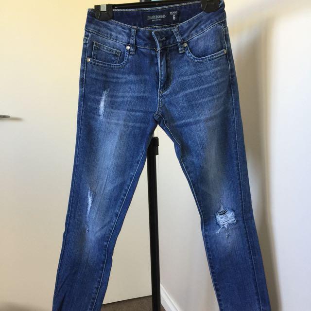 3x Jeans Size 6 Bundle Sale For $50