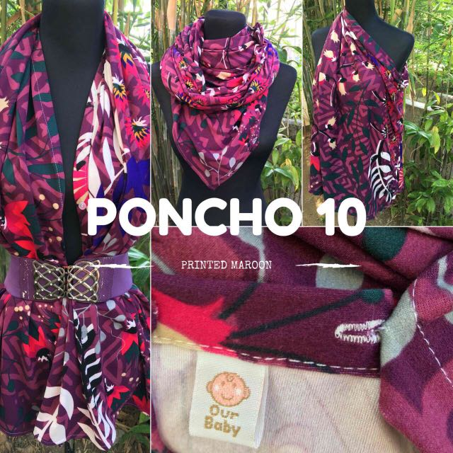 6-in-1 Multi-use Breastfeeding Poncho
