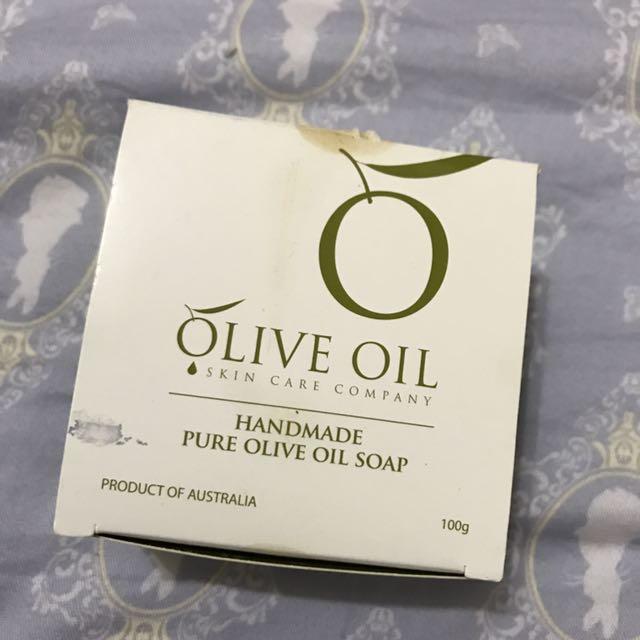 朵昂思初榨橄欖油手工皂原味