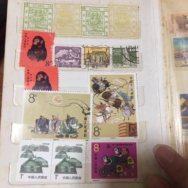 郵票(喜歡歡迎出價)