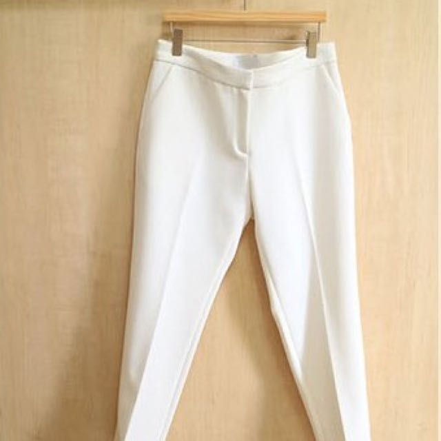 現貨 正韓 春新款挺感顯瘦打折休閒褲 西裝褲 白