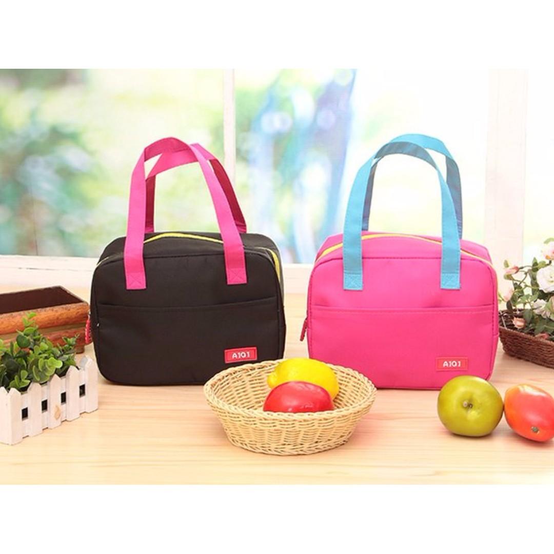牛津布保溫手提袋 便當袋 便當包 野餐包 手提包#Y165