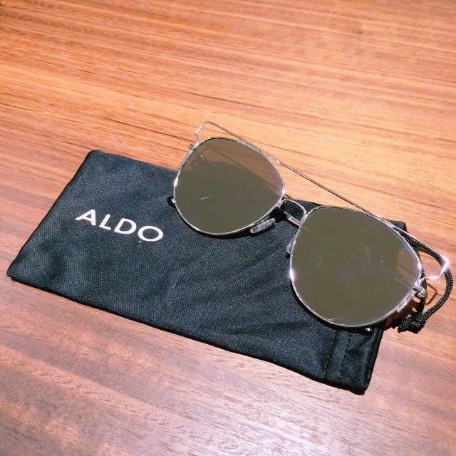 二手 正品Aldo水銀反光GD款墨鏡
