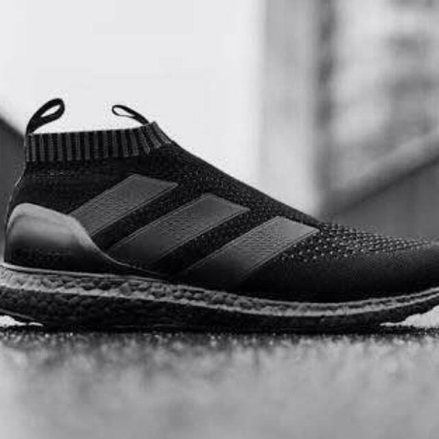 7389479e1ba9 ... czech adidas ace 16 full black bulletin board looking for on carousell  a92e3 edc6c