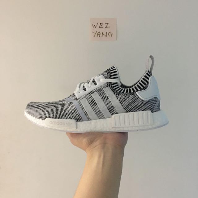 sports shoes 8e72e a02a6 Adidas NMD R1 'Glitch Oreo'