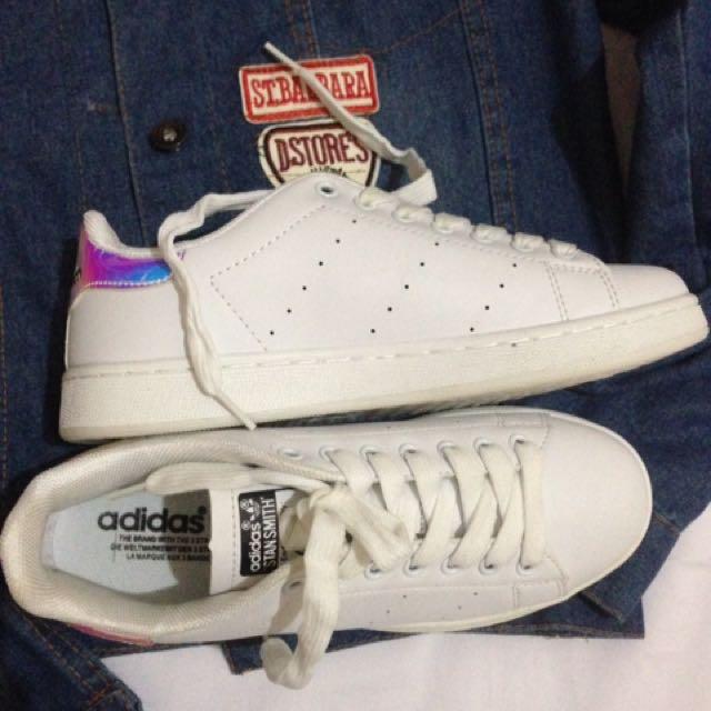 Adidas Stan Smith (holográficas), preloved Moda Mujer, zapatos