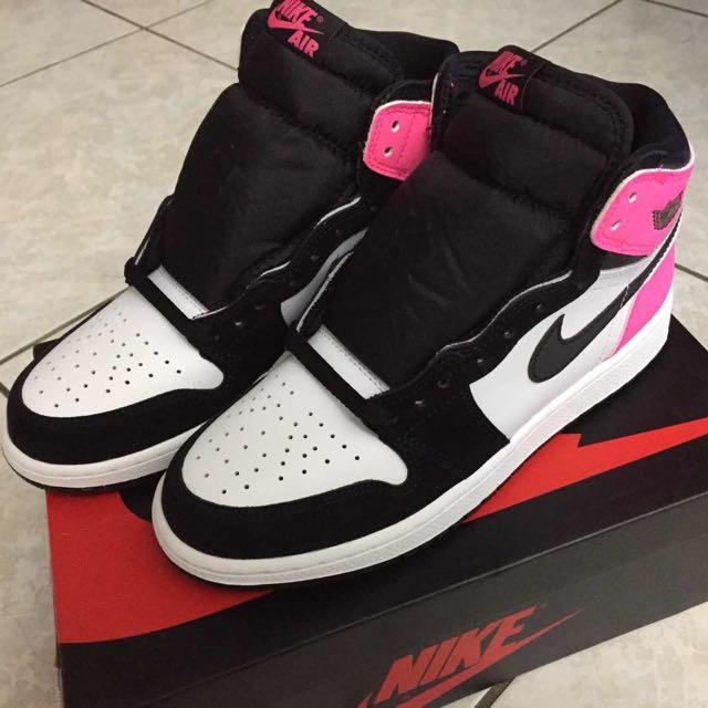 Air Jordan 1 -情人節限定版黑粉白881426-009