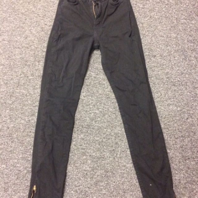 American Apparel Black Jeans