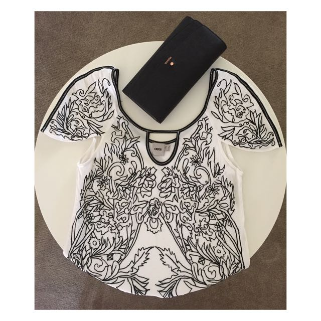 Asos Embroidered Top