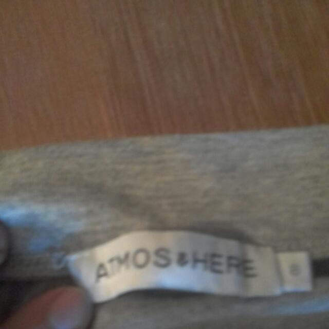 Atmos & Here Asymmetrical Skirt Grey