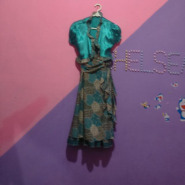 Baju Batik Anak Masih Bagus Baru Sekali Di Pake Pasperpisahan Aja Udah Ga Muat