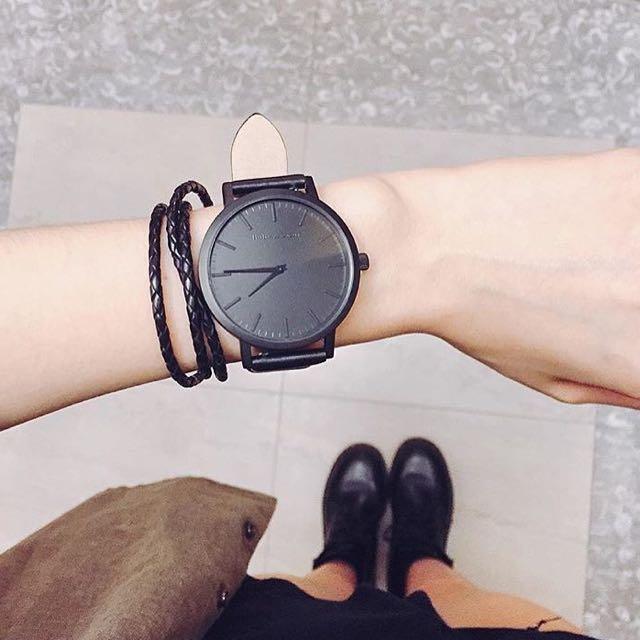 Barbas & Zacari Matt Black Watch