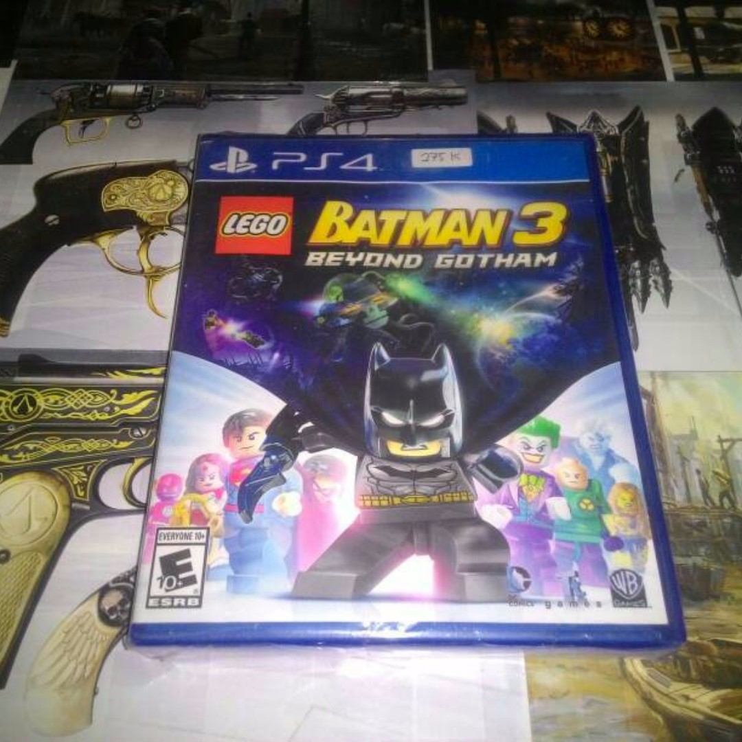 Bd Ps4 Game Lego Batman 3 Beyond Gotham Reg All Cusa Used Video Kaset Need For Speed  Only Di Carousell