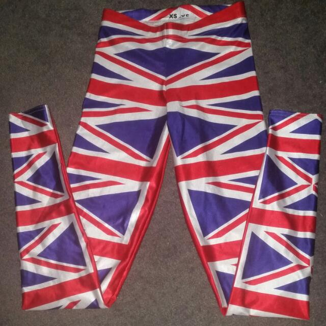 Blackmilk Union Jack Leggings