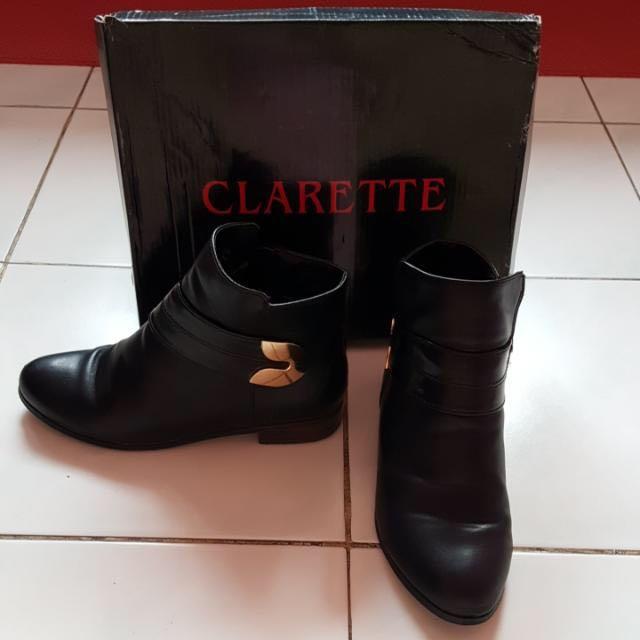 Boot Clarette By ZALORA Size 36 Black