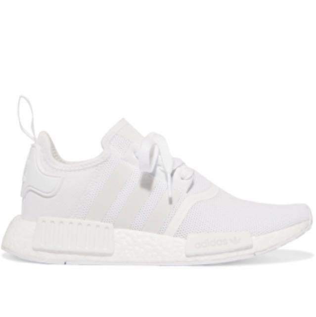 BRAND NEW 100% AUTHENTIC ADIDAS WHITE MESH NMD