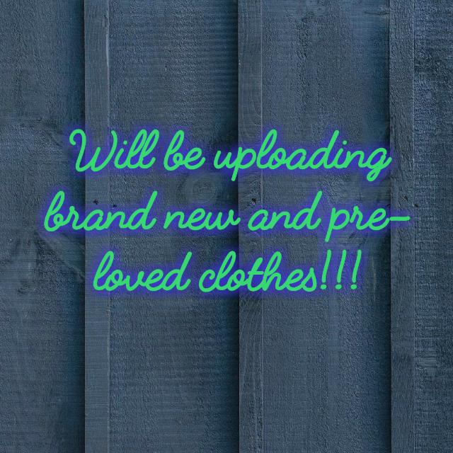 Brand new and pre-loved clothes