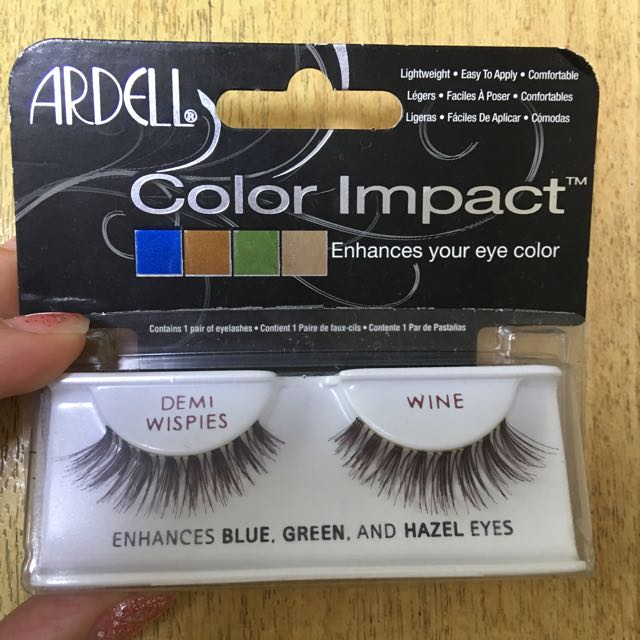 e2670d3e695 Brand New In Packaging Ardell Wine False Lashes In Wispies Style ...
