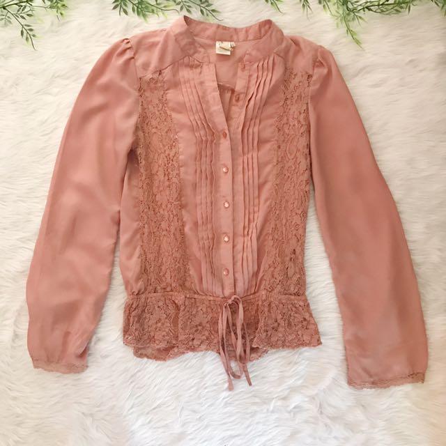 Branded Preloved - Lace Top