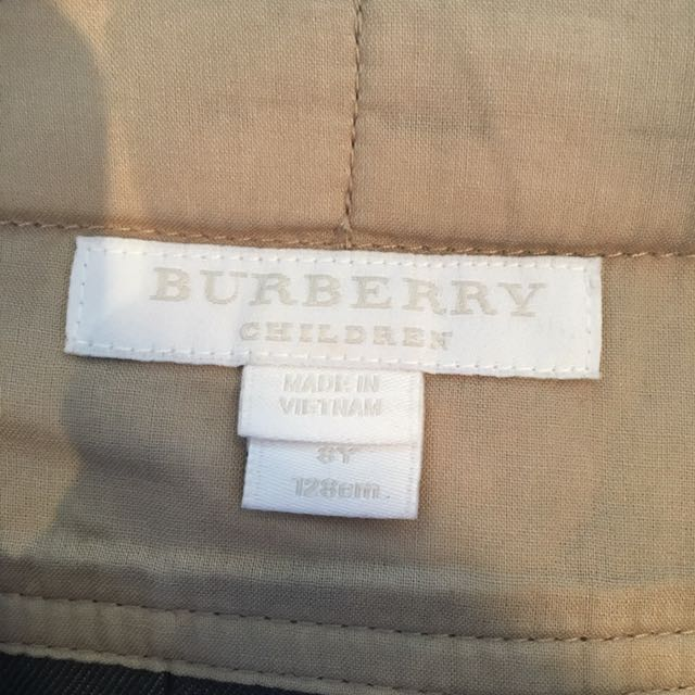 Burberry Pleat Skirt