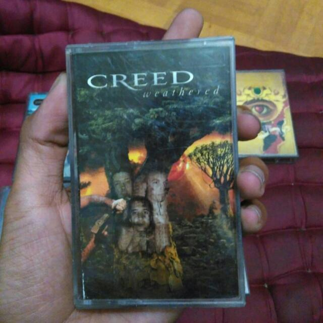 Cassete Tape Creed 2001