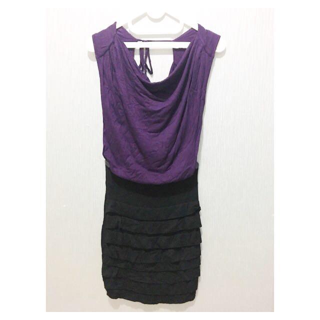 Casual Dress Purple