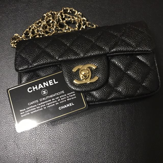 3d27b2eeaecd Chanel Lipstick Mini Bag, Luxury, Bags & Wallets on Carousell