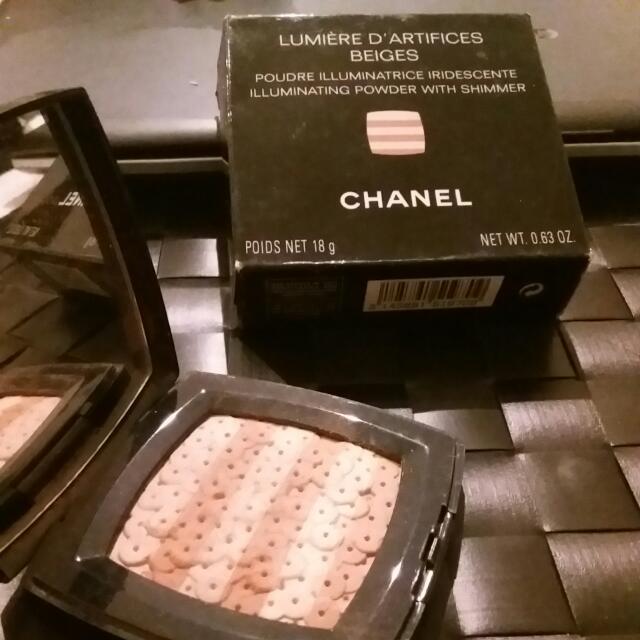 Chanel Lumiere DArtifices Beiges