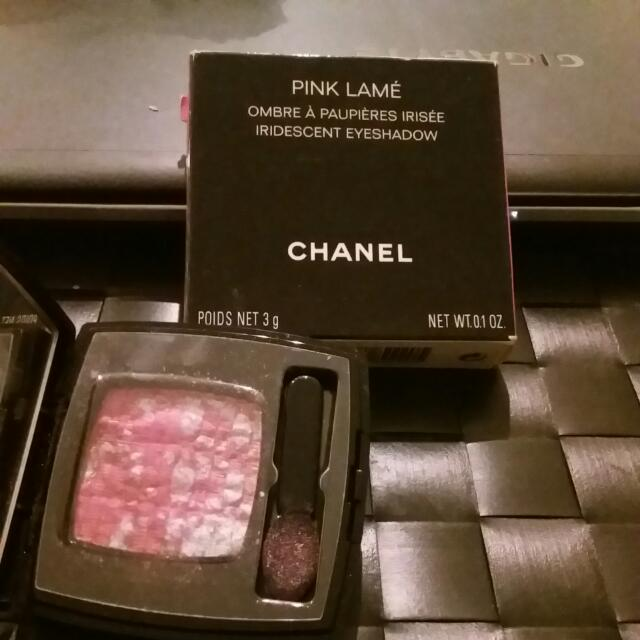 Chanel Pink Lame Ombre A Paupieres Irisee Iredescent Eyeshadow